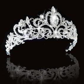 Coroa Tiara Noiva Debutante Prata Preço Imperdível Milly