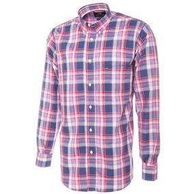 Camisa De Hombre Cuadros Pato Pampa 007
