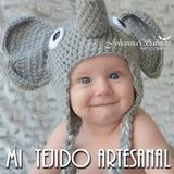 Gorros Tejidos Al Crochet Para Bebes, Niños Y Adolescentes
