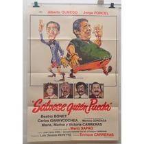Salvese Quien Pueda Olmedo Porcel Sapag Afiche Cine 70s 80
