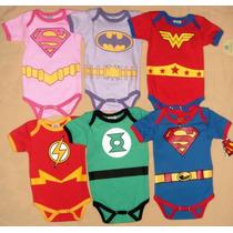Pañalero, Mameluco Superman, Flash, Batman