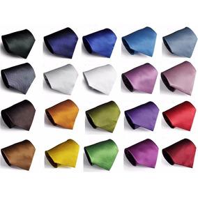 Corbatas Jacquard Square Colors Texturizadas Slim O Normal