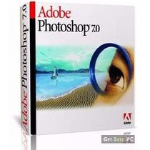 Cd / Dvd Photoshop 7.0 Português Com Serial Para Ativação