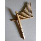 Instrumentos Andinos Zampoña Y Quena