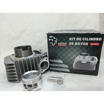 Kit Cilindro Motor Com Pistão E Aneis Biz 125 06 Á 08