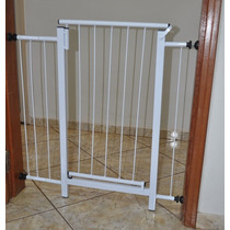Portão Grade De Proteção Cães Cachorro Pet 79 Cm A 84cm
