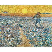 Lienzo Tela Vincent Van Gogh 1888 Impresionismo 50 X 63 Cm