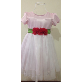 Vestido De Fiesta Niña Precioso Talla 3 Años Nuevo