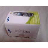 Caixa Do Celular Samsung Keystone 2 Gt-e1203