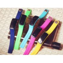 Reloj Digital Led Silicona Sport Colores Fit Oferta