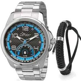 Kit Relógio Condor Masculino Com Pulseira Co2115vg/k3c