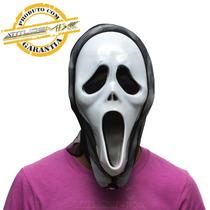 Máscara Pânico Plástico Halloween Fantasia Festas Terror