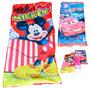 Bolsa De Dormir Camping Infantil Minnie Kitty Cars Mickey