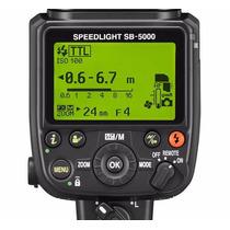 Novo Flash Nikon Speedlight Sb5000 Garantia Mercadoplatinum
