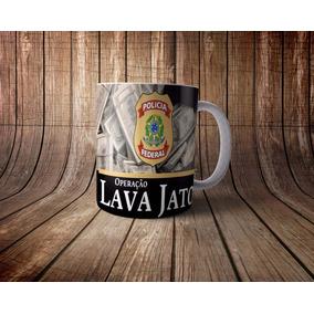 Caneca Lava Jato Personalizada
