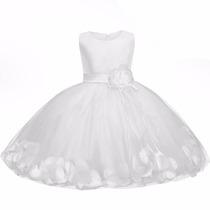 Vestido Para Princesas - Batizado, Aniversário E Festas!