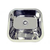 Tanque Pequeno Em Inox Para Embutir 400x400x200mm Monobloco
