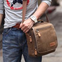 Bolso Para Hombre Vintage De Lona