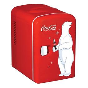 Mini Refrigerador Frigobar Coca Cola Para 6 Latas Oferta