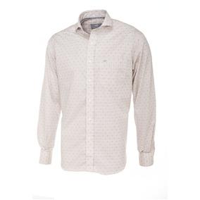 Camisa De Hombre Lunares Lilas Pato Pampa