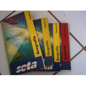 Kit 4 Livros Geografia Seta - P/ Enem E Vestibular