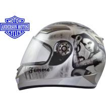 Capacete Femme Tamanho 56 - Helmets Frete Grátis