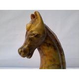Cavalo Em Pedra-sabão * Ideal Como Troféu ****