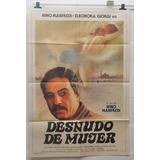 Desnudo De Mujer Nino Manfredi Afiche Cine 70