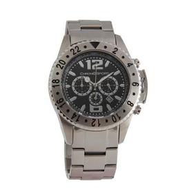 Reloj Chronosport 600 Acero/negro Cronómetros Tienda Oficial