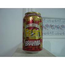 Lata Cerveja Brahma Imagina A Festa Carnaval 2013 - Vazia