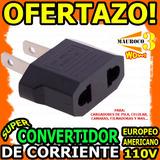 Wow Enchufe Convertidor De Corriente Europeo Americano 110v