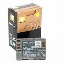 Bateria Nikon En-el3e Original D90 D80 D70 D50 D300 D200 P08