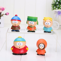 Kit Com 5 Bonecos Do South Park Action Figure