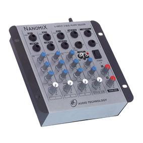 Mesa Som L L Áudio Nanomix Na 402r 4 Canais