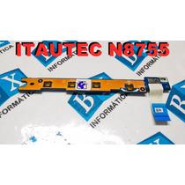 Placa Power On Off Multimidia Itautec N8755 Ls-7663p