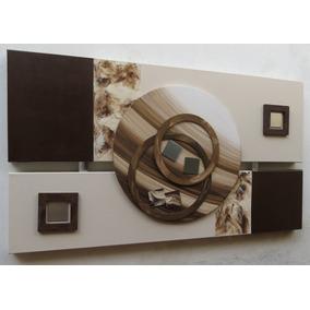 Quadros Abstratos Decorativos -frete Grátis Para Todo Brasil