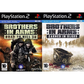 Brothers In Arms Earned In Blood (kit 2 Jogos Ps2 Guerra