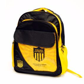 Mochila Escolar Club Atlético Peñarol Rincón Del Hincha