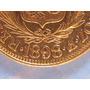 Libra De Oro Peruana Moneda Oro Solido 22 Kilates Varios Año