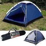 Barraca Camping 2 Pess Iglu Ozark Trail +colchão Solt Intex