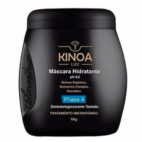 Aneethun Mascara Hidrat. Kinoa Lizz 1kg Phase 4 Cabelos Com