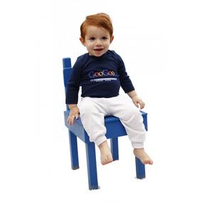 Body Baby Googoo Dada + Calça Divertido 100% Algodão