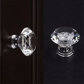 Puxador Cristal Diamante Moveis 30mm Gaveta Armário