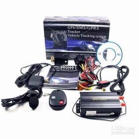 Rastreador Corta Corrente Bloqueador Tk103 Veicular Gps/sms