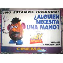 Poster Toy Story - Cine Animacion Pixar Disney