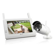 Swann Sistema De Seguridad Inalambrico Hd Monitor Microfono