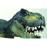 Tiranosaurio Rex Verde Papo De Coleccion