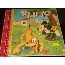 Pluto Série Ouro De 1957 Walt Disney Ed Melhoramentos Rara
