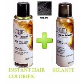 Spray Instant Hair Colorific- Maquiagem-castanho Escuro