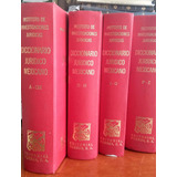 Dicc. Jurídico Mexicano 4 Tomos Edt. Porrúa Unam 1993